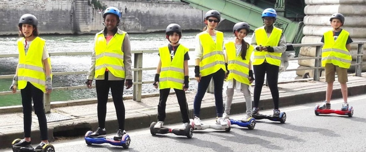 Hoverboard tour dans le Marais