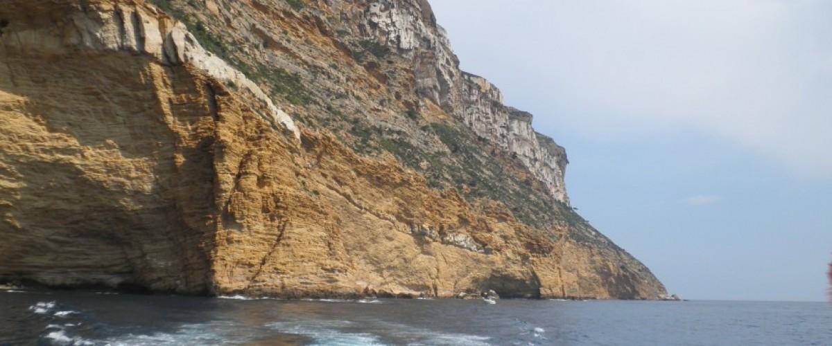 Visite des calanques de La Ciotat en bateau circuit n°1 Figuerolles