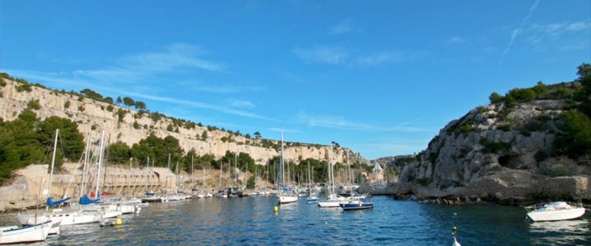 Visite des calanques en bateau circuit n°2 En-Vau