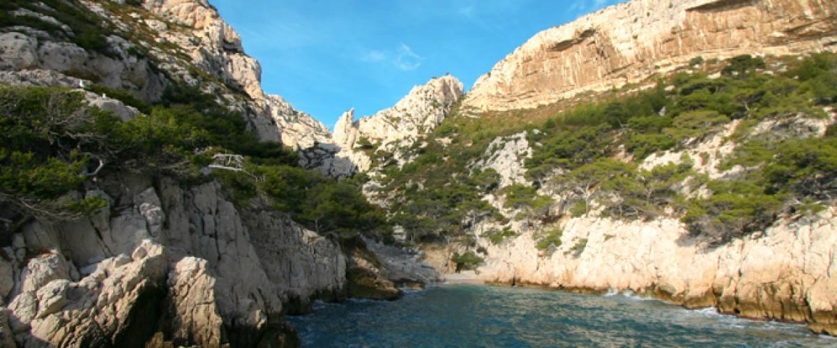 Visite des calanques en bateau circuit n°3 Morgiou