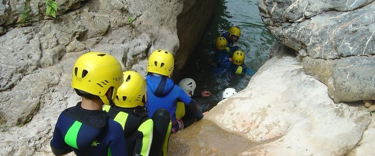 Canyoning en Famille dans la Vallée de la Garonne