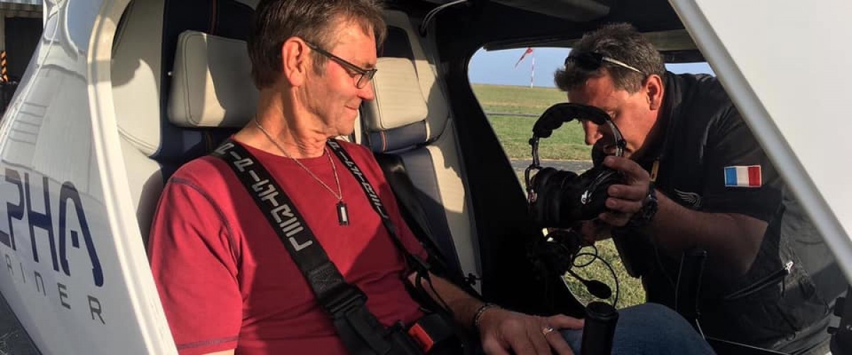 Grand tour de vol à bord d'un ULM alpha Trainer