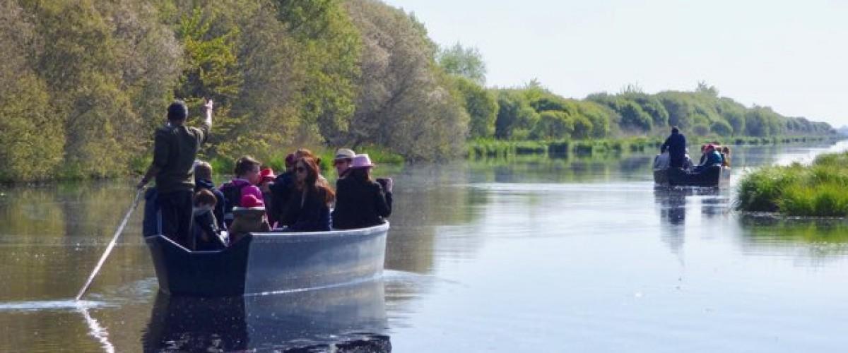 Découverte de la Brière en barque traditionnelle