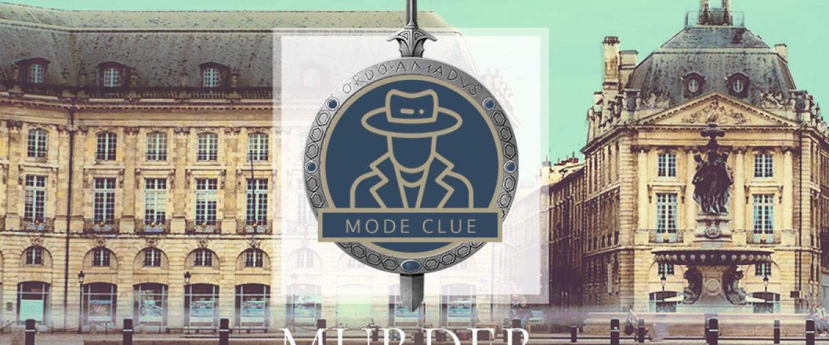 Murder Party Clue au coeur de Bordeaux