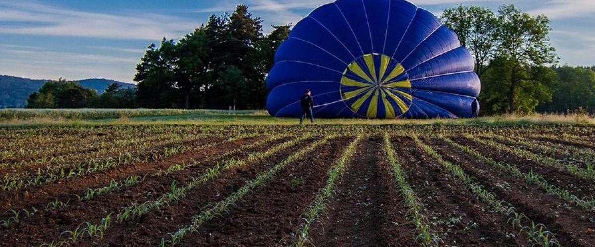 Vol en montgolfière en famille en Auvergne