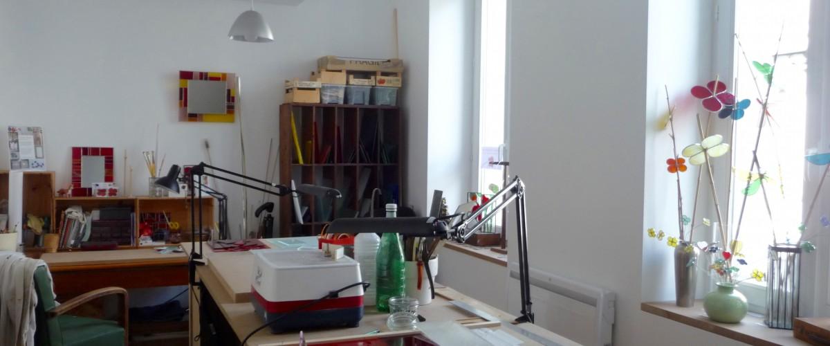 Atelier d'initiation au vitrail en cuivre