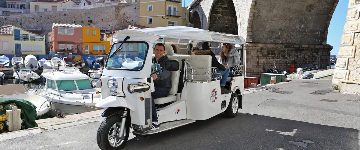 TUK TUK Tour privé à travers Marseille