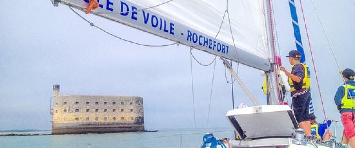 Escapade à Fort Boyard en voilier !