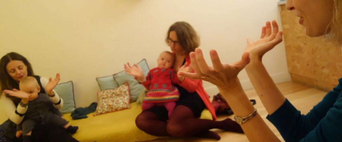 Ateliers duo parents-enfant Signes avec bébé 0-3 ans