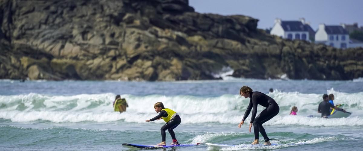 Séance découverte de surf