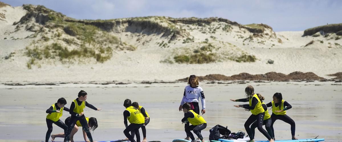 Stage de surf à la semaine (5 x 2H)