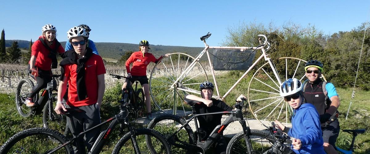 Le Minervois en vélo en électrique