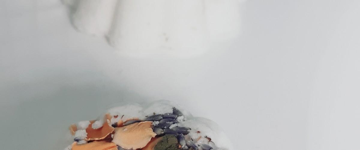 Réalisation de Bath Bomb florales