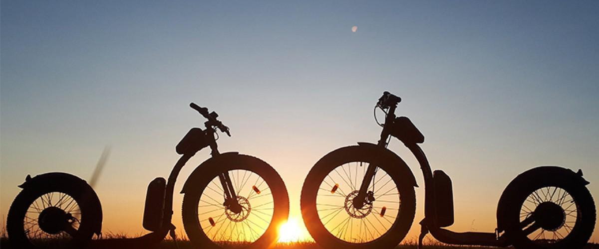 Balade en Stand Up Bike autour de Mimizan