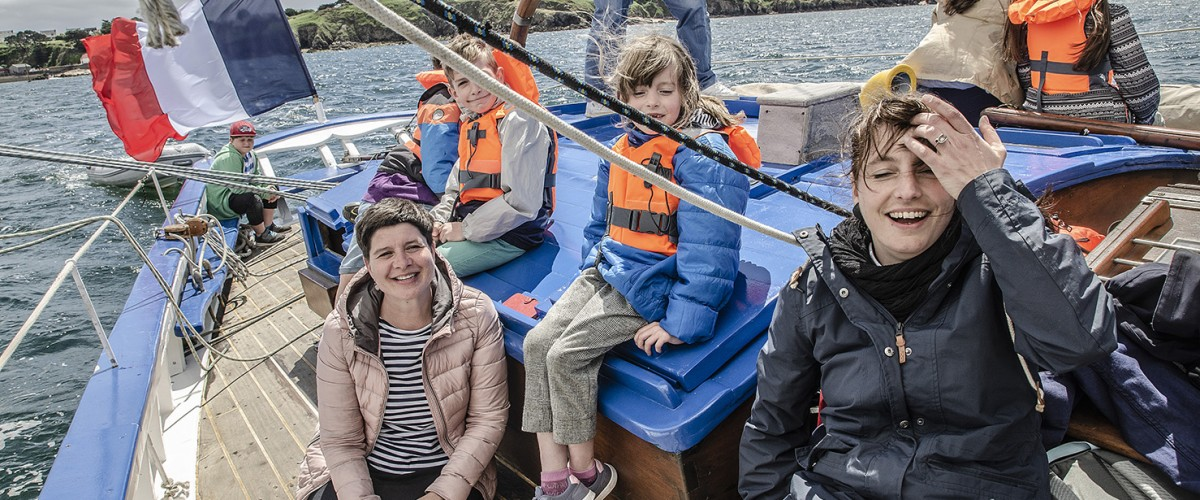 Soirée dans le Golfe du Morbihan en voilier traditionnel