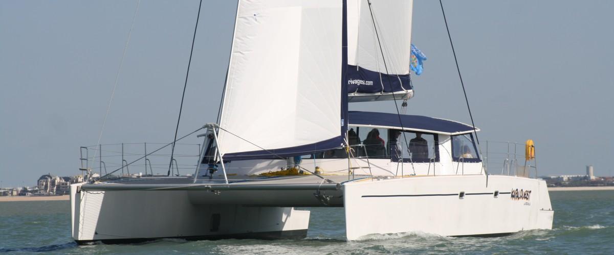 Croisière découverte en maxi-catamaran à La Rochelle