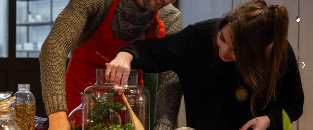 """Atelier """"Créez votre terrarium végétal fermé"""""""