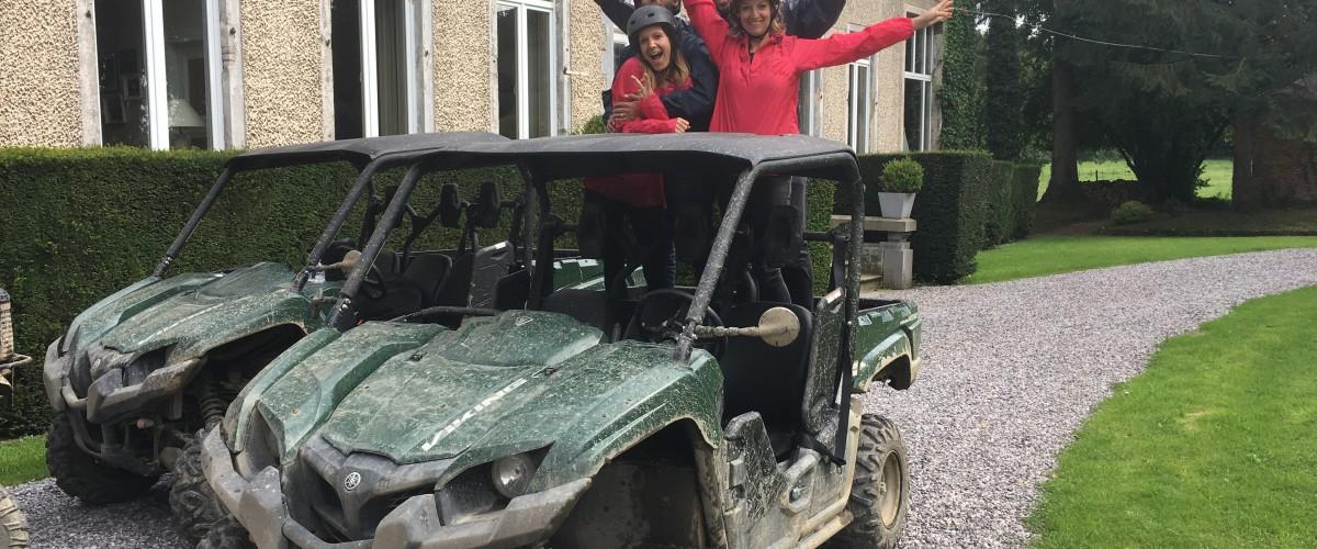 Initiation au buggy dans l'Avesnois
