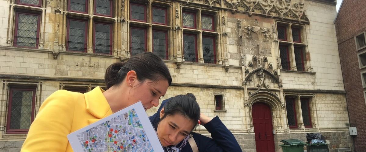 Chasse au trésor découverte d'Amiens