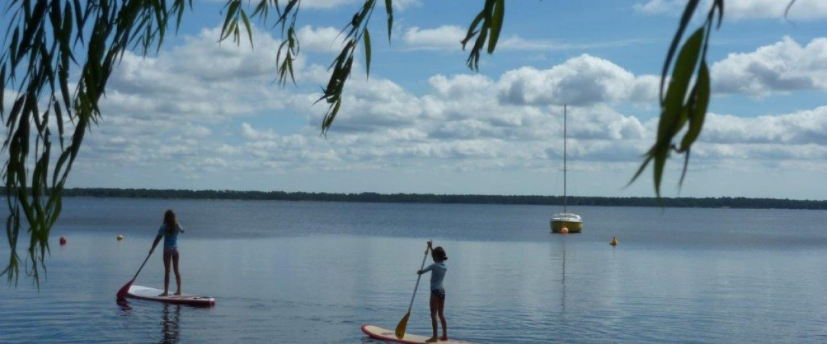 Balade encadrée stand-up paddle