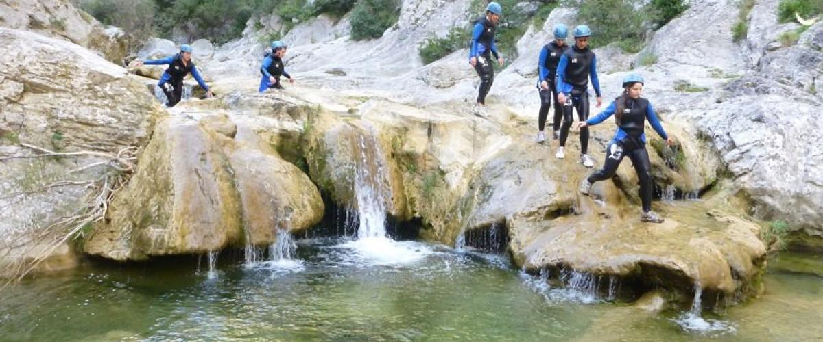 Canyoning à Argeles sur Mer