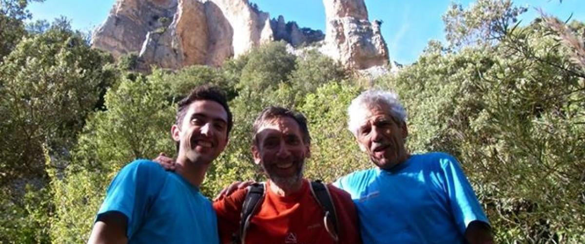 Première grimpe entre amis dans les Hautes-Pyrénnées