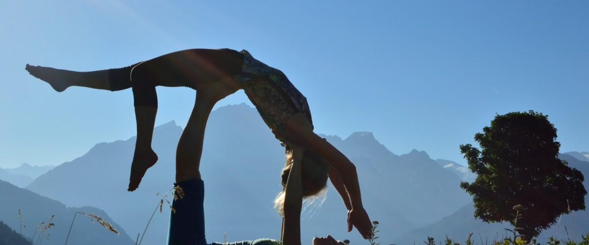 Session de Yoga au Lac de Bozel