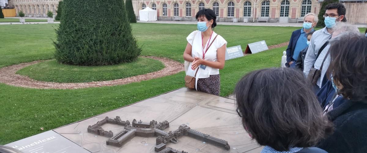 Visite du Château de Fontainebleau en Seine-et-Marne !