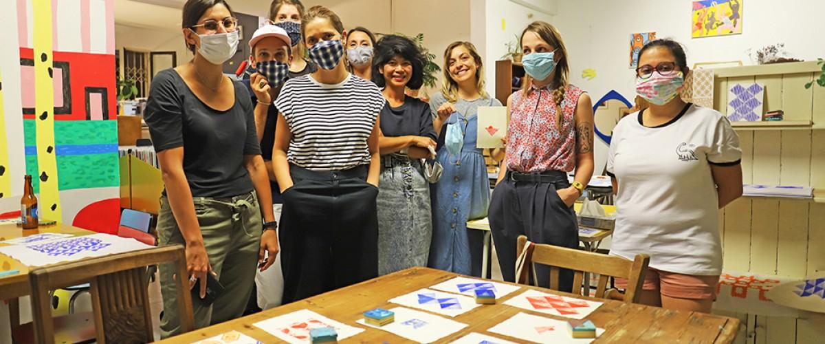 Initiation à la Linogravure à Montpellier