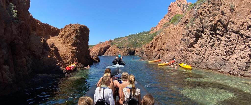 Excursion nautique Cannes / Calanques de l'Esterel
