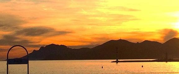 Croisière coucher de soleil Cannes / Iles de Lérins