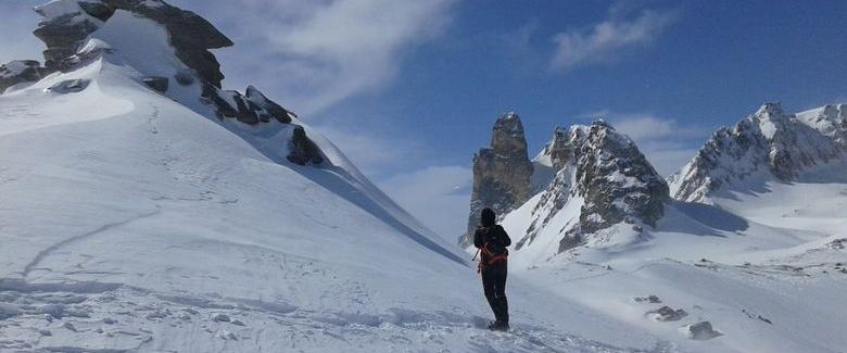 Sortie privée en raquette à neige pour petit groupe, à Méribel