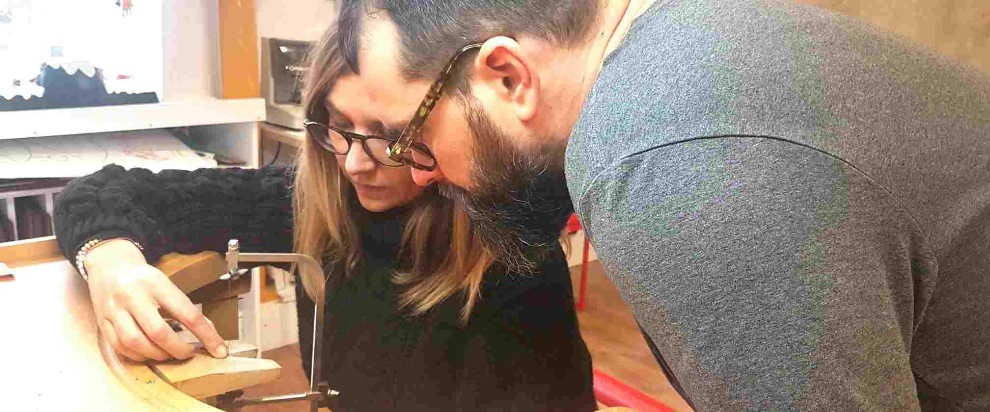 Atelier de fabrication d'Alliances en couple à Bordeaux