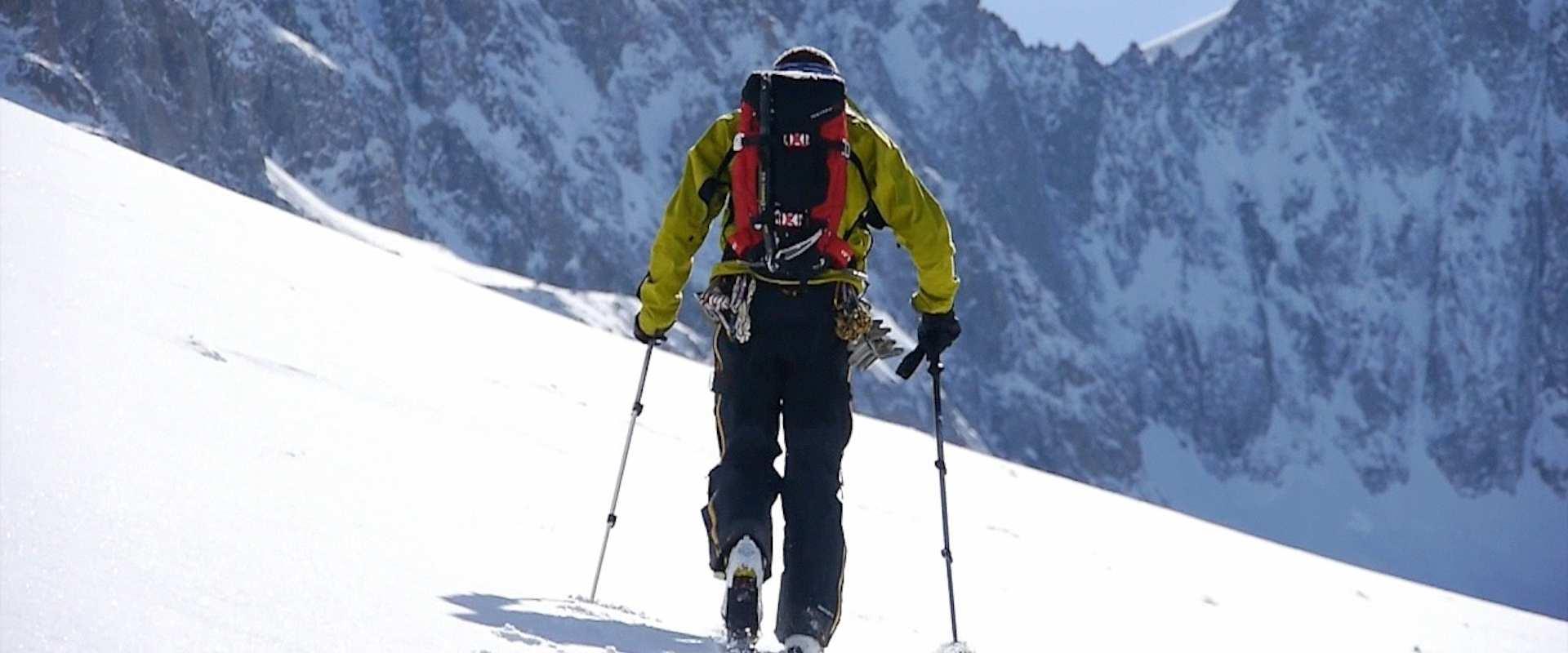 Ski de rando training ou initiation à Megève