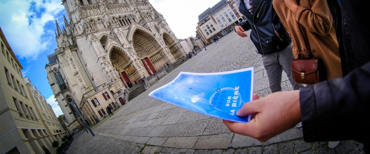 Découverte de la ville et jeu de piste autour de la bière d'Amiens