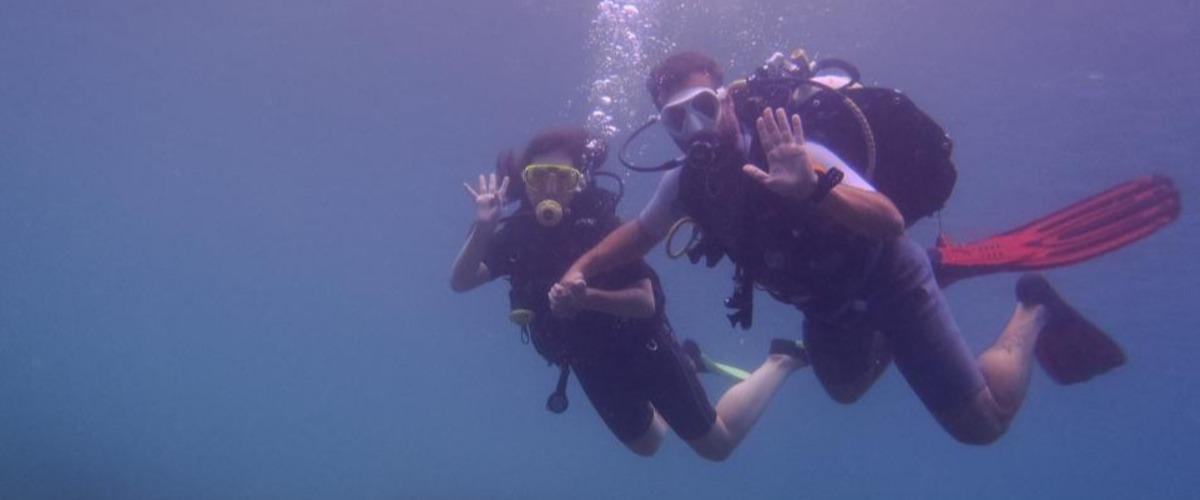 Diplôme de plongée enfant (Scuba Diver Padi) à St Raphaël
