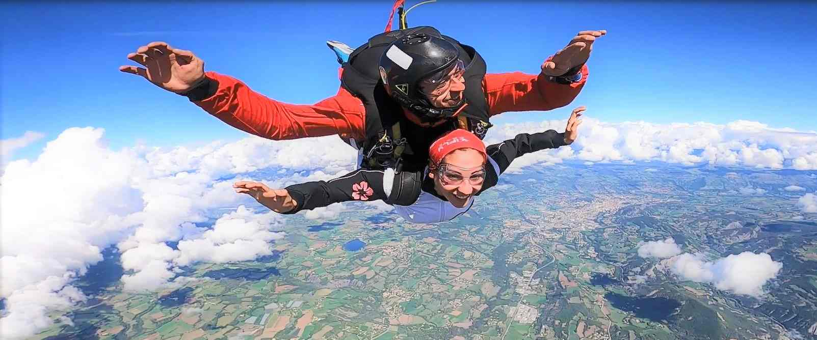 Saut en parachute à Tallard !