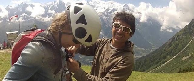 Vol bi-place en parapente à Chamonix