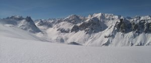 La Maurienne vue d'en haut : PANORAMA SUR LES ALPES à Valmeinier