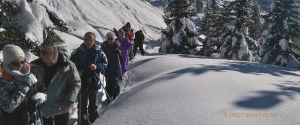 Randonnée dans la réserve naturelle et fondue savoyarde à Valmeinier