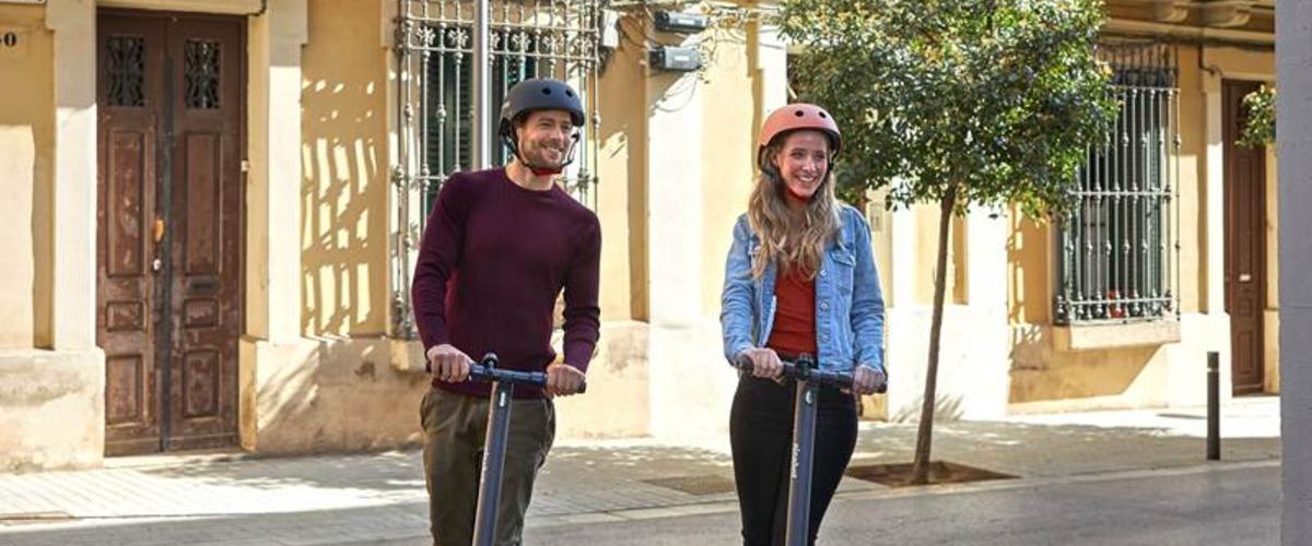 Escapade en trottinette électrique à Nice !