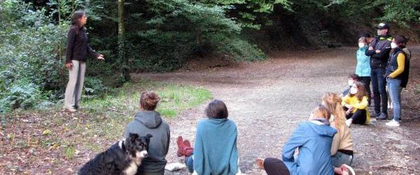 Balade contée en forêt à Hennebont