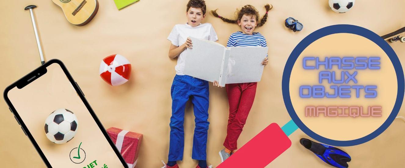 Chasse aux objets magique pour les enfants (partout en France)
