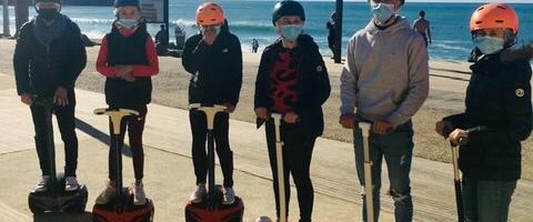 Balade découverte insolite à Anglet plage et Biarritz Phare en Gyropode