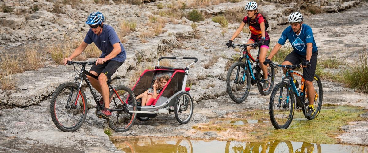 Balade à vélo à Berrias