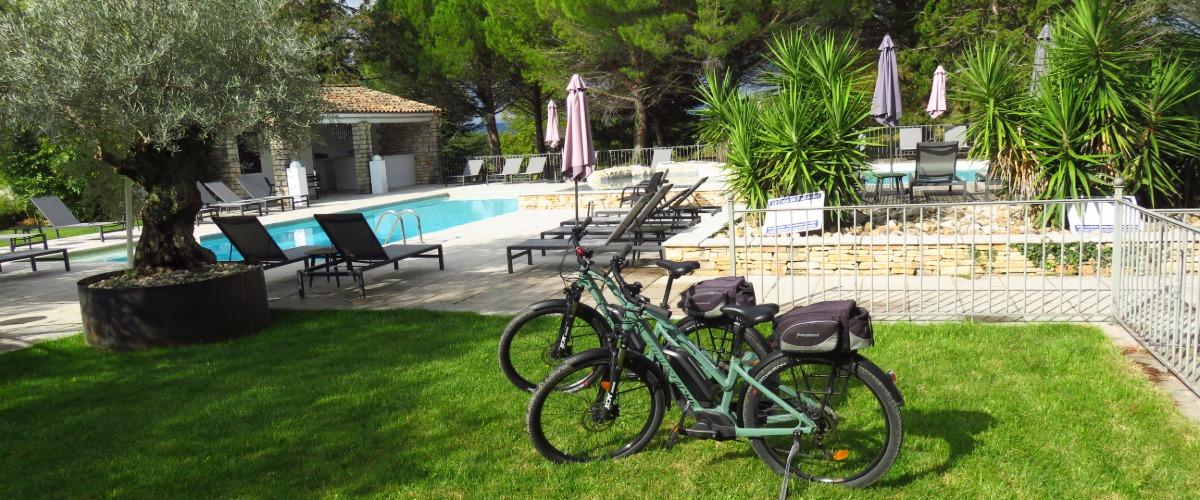 Œnotourisme en vélo électrique au Mas du Terme