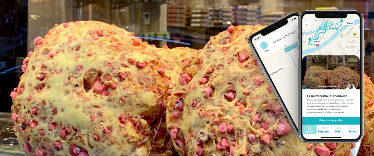 Lyon, Cité de la Gastronomie, visite audio-guidée sur smartphone à Pied