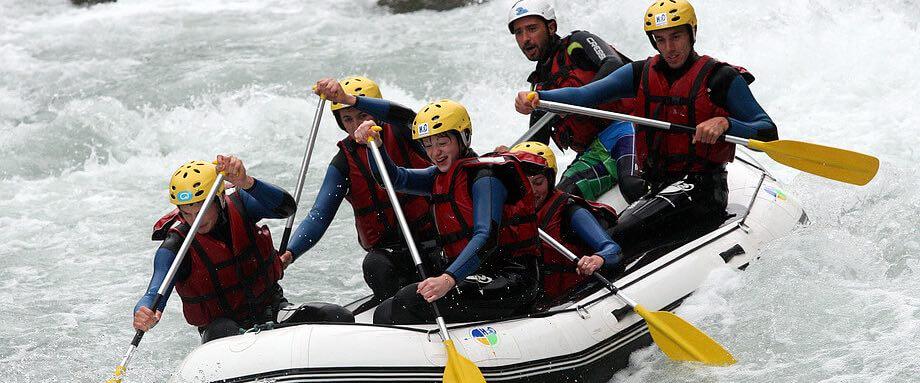 Rafting à Avoriaz - parcours découverte
