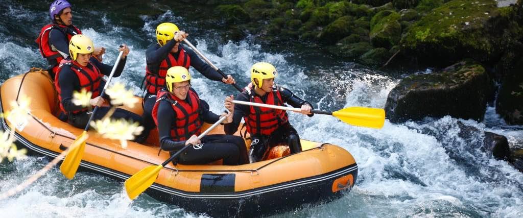 Rafting à Avoriaz- Parcours rodéo