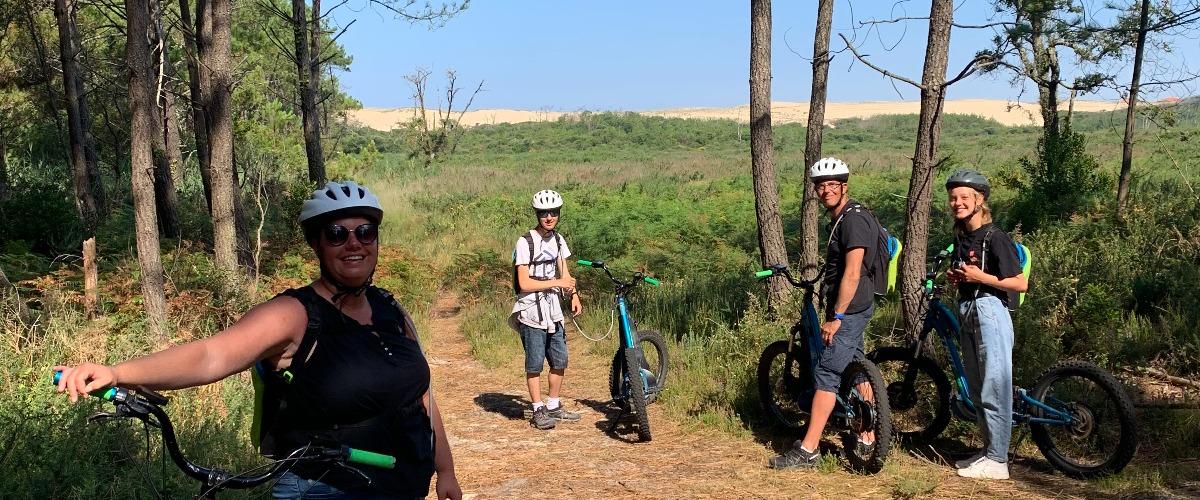 """""""CA M'INTRIGUE"""" Balade sur l'histoire de la forêt Landaise à Messanges"""